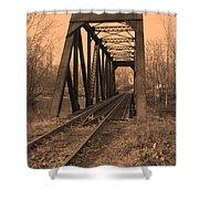 Railbridge Shower Curtain