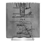 Railcar Fender Shower Curtain