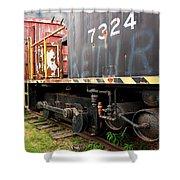 Railroad Retirement Shower Curtain