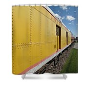 Railroad Train Shower Curtain
