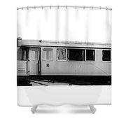 Railway Car, 1913 Shower Curtain