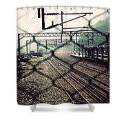 Railway Station Shower Curtain