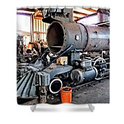 Railyard 13 Shower Curtain