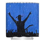 Rain Can't Stop Me Shower Curtain
