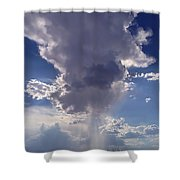 Rain Cloud Shower Curtain