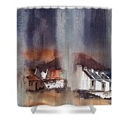 Rain Fall On Dooagh Achil Shower Curtain