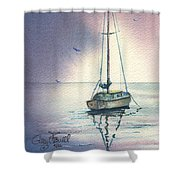 Rain Is Here Shower Curtain