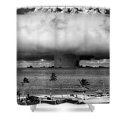Rain Of Ruin Shower Curtain