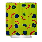 Rain On A Sunny Day Notecard Shower Curtain