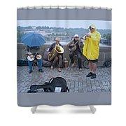 Rain Or Shine Shower Curtain