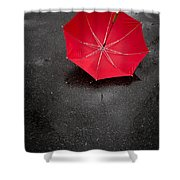 Rain Rain Go Away Shower Curtain