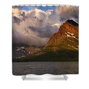 Rainbow At Sunrise - Panorama Shower Curtain