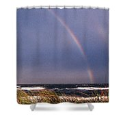 Rainbow Beach Shower Curtain