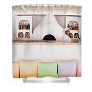 Rainbow Chef Shower Curtain