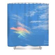 Rainbow Cloud Shower Curtain
