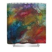 Rainbow Dreams By Madart Shower Curtain