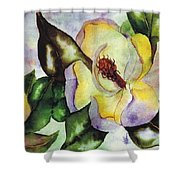 Colorful Magnolia Shower Curtain