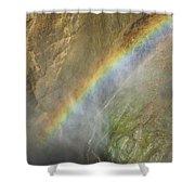 Rainbow Mist Shower Curtain