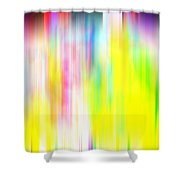 Rainbow Unleashed Shower Curtain