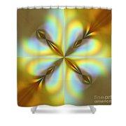 Rainbows Abstract Shower Curtain