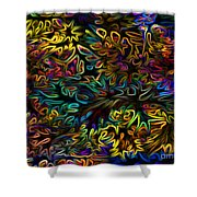 Rainbows In The Forest Shower Curtain