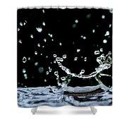 Raindrop Shower Curtain