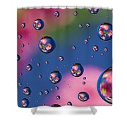 Raindrops And Flowers 7 Shower Curtain