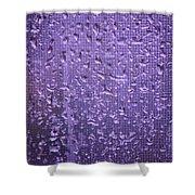Raindrops On Window II Shower Curtain