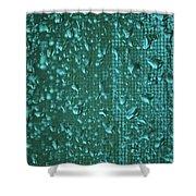 Raindrops On Window Iv Shower Curtain
