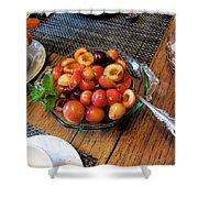 Rainier Cherries - Yummy Shower Curtain