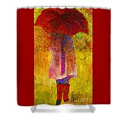 Raining Sunshine Shower Curtain