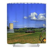 Rainmaker 2 And The Hawk Shower Curtain