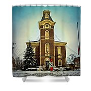 Raintree County Courthouse Shower Curtain