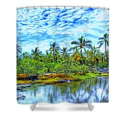 Rainy Afternoon In Kona Shower Curtain