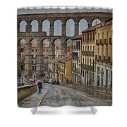 Rainy Afternoon In Segovia Shower Curtain