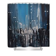 Rainy City Shower Curtain