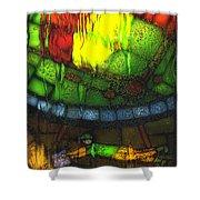 Rainy Day 2 Shower Curtain by Jack Zulli