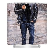 Rainy Day #23 Shower Curtain by Emerico Imre Toth