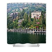 Rainy Day In Como Shower Curtain