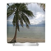 Rainy Day In Paradise Shower Curtain