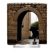 Rainy Day In Provence France Shower Curtain