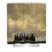 Rainy Day In Toskany Shower Curtain