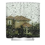 Rainy Tropics Shower Curtain