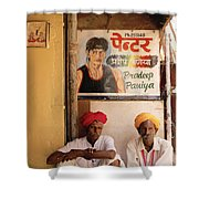 Life Of Rajasthan Shower Curtain