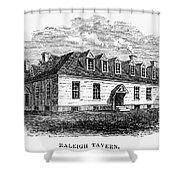 Raleigh Tavern, 1770s Shower Curtain