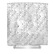 Rally By Jammer Shower Curtain