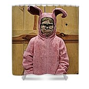 Ralphie Of A Christmas Story Shower Curtain