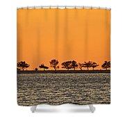 Ram Island Shower Curtain