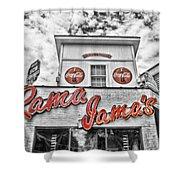 Rama Jama's Shower Curtain