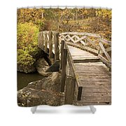 Ramsey Creek Scene 6 Shower Curtain